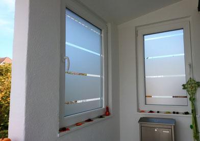 Fensterfolie Werbetechnik
