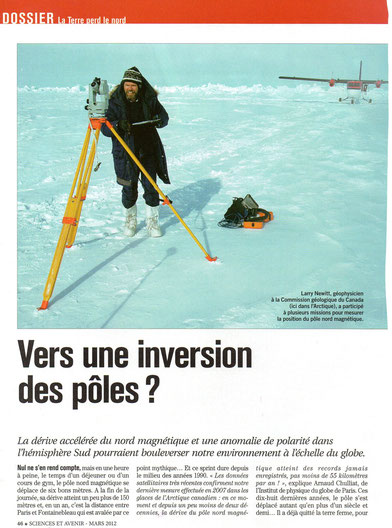 inversion des pôles