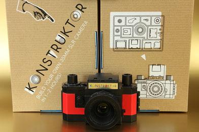 KONSTRUKTOR Kamera-Bausatz  ©  engel-art.ch
