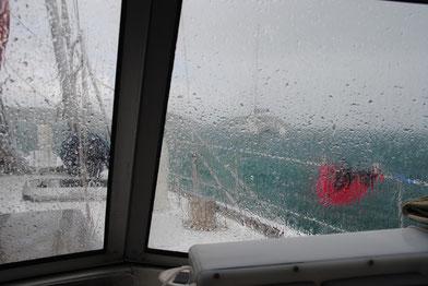 Die Karibik von der anderen Seite: warmer Regen; Bordtag
