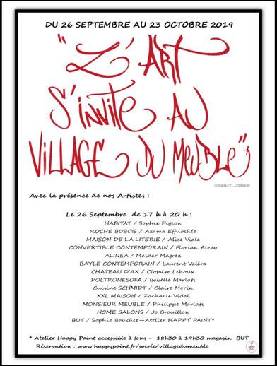 L Art S Invite Au Village Du Meuble Mérignac Site