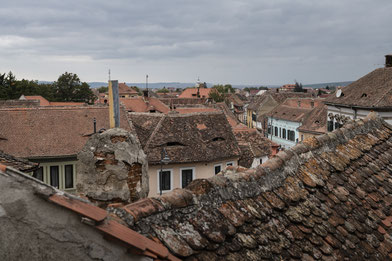 Blick über Sibiu - Hermannstadt / Reisebericht Rumänien