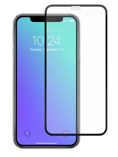 A&S GLAS 3D Displayschutz für iPhone XS