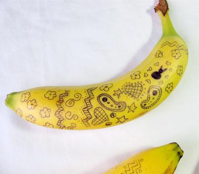 Beatrice Winkel - Bananen-Osterdekoration