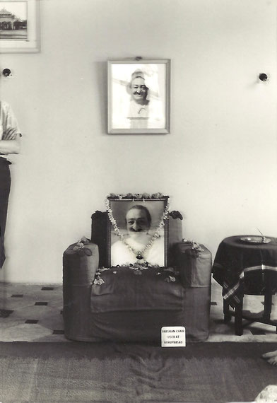 1975 ; New Baba room located near Guruprasad - photo by Anthony Zois