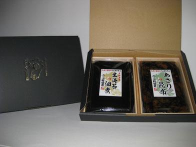 上村佃煮製造所_新しい化粧箱