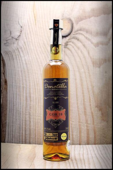 Donatella Whisky - Cask 18 Edition (18 YO Blended Malt Luxury Scotch Whisky)