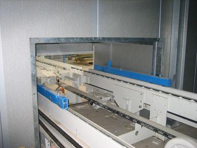 Cabina insonorización maquinas tablero