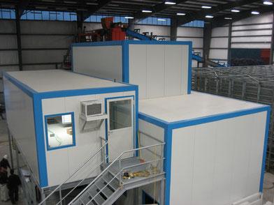 Cabinas insonorización maquinaria prefabricado hormigón