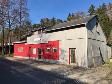 Das Vereinsheim in der Dorfstraße