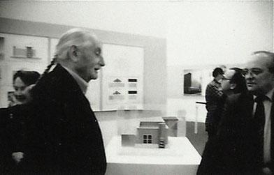 Ettore Sotsass Jr. con Gianni Pettena, 1991
