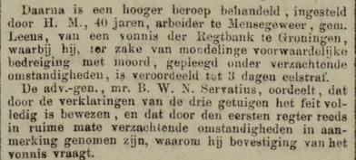 Leeuwarder courant 25-02-1885