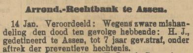 Provinciale Drentsche en Asser courant 15-01-1907