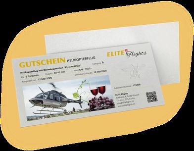 Elite Flights, Gutschein Fly and Wine, Helikopterflug mit Weindegustation Helikopterflug, Helikopterrundflug, Rundflug