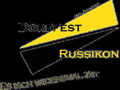 Logo Dorffest Russikon 2018