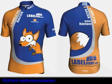 Trikot Team Labelfox-Racer Schweinfurt Saison 2017