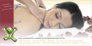 flyer-grafikwerstatt-thielen-gutschein-frau-bluetenblaetter-massage-illustration