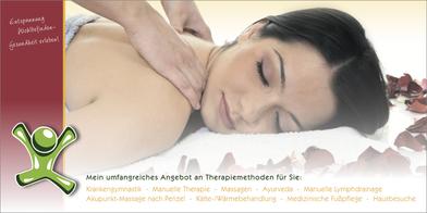 flyer-grafikwerstatt-thielen-gutschein-frau-bluetenblaetter-massage-illustration