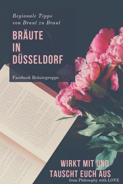 Auf dem Foto wird die Facebook Gruppe Bräute in Düsseldorf gezeigt. Von Braut zu Braut wird über die Hochzeitsplanung in Düsseldorf gesprochen.