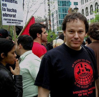 David Graeber, Occupy-demo i New York 2012