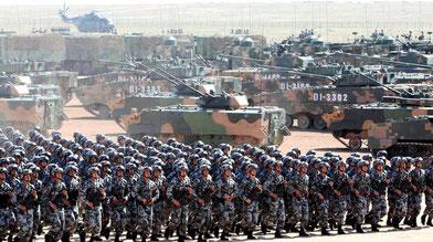 Militærparade i Kina 2017