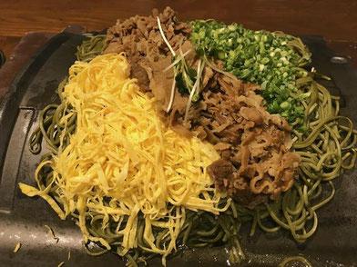 伊都の湯どころ(糸島市泊) 食事 瓦そば