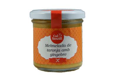 Melmelada de taronja amb gingebre 170 gr