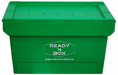 Die umweltfreundliche Umzugsbox statt den altmodischen Umzugskarton und Umzugskisten