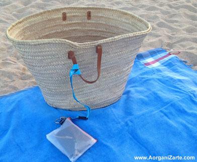 como llevar el dinero a la playa - www.aorganizarte.com