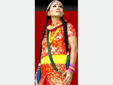 ネパールの歌姫スンダリミカが岡山にやってくる