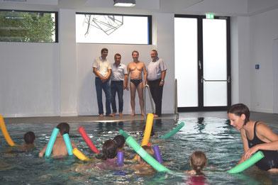 Im Rahmen der Ferienspiele 2017 konnten 40 Kinder das Schwimmen erlernen.