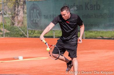 Jochen Metzger für die TGO Herren der C-Klasse.