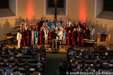 Deborah Woodson, die auch schon für den Amerikanischen US Präsidenten gesungen hat ,war in der Friedrichskirche in Worms