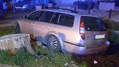 Die Unfallstelle. Foto: Polizei