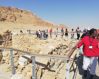 Millions of tourists visit Qumran National Park annually.
