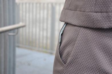 Hosenanzug nähen Business Outfit Modeblog Fairy Tale Gone Realistic Nähblog DIY Blog Deutschland