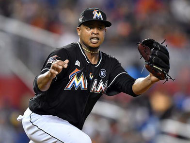 Nella foto Edison Volquez (Photo: Steve Mitchell, USA TODAY Sports)