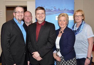 Der Vorstand 2016 (nicht im Bild: Birgit Frey-Seegers, Erhard Djuren, André Loidolt und Wolfgang Wilhelm) (c) Beate Ulich