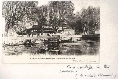 """""""l'Album souvenir de L'Isle sur Sorgue"""". René Char"""