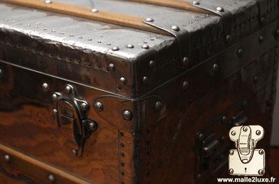 very rare louis vuitton trunk collection aluminum