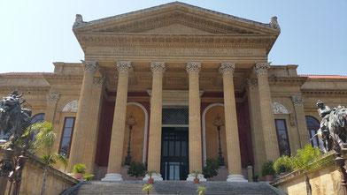 Movie Trips Sicily: Teatro Massimo