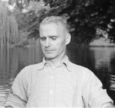 Ernst Wenzel - Bootsfahrt auf der Werse