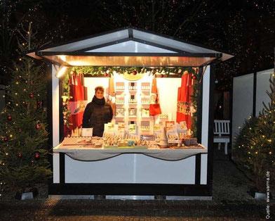 Beispielbild für eine portable Markthütte (Quelle: www.varma.de)