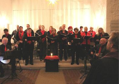 Die Neue Hof Musik beim Weihnachtskonzert