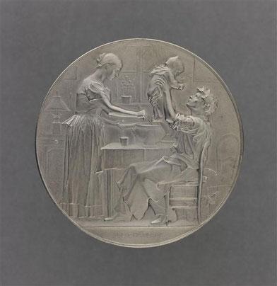 JC Chaplain - Famille heureuse, récompense - 1891 - (RMN Grd Palais (Musée Orsay) - Stéphane Marcéhalle)