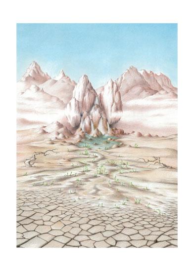 Mirovia, arte fantástico, dibujo fantastico, paisajes fantasticos, dibujantes españoles