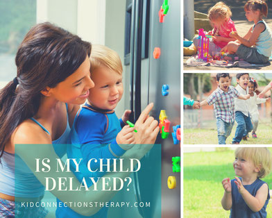 Does my child have a speech or language delay? We help families in Anne Arundel County and Prince George's County.