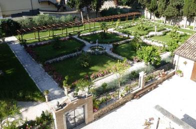 Giardini del Palazzo Vescovile - Hotel Pennile, Ascoli Piceno