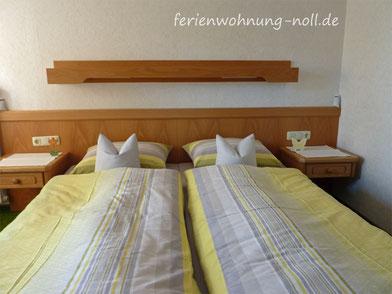 Ferienwohnung Noll: Schlafzimmer