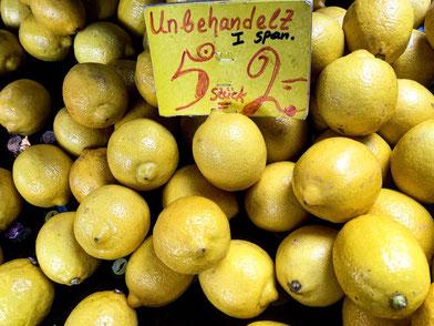 Markt, Lebensmittel, Feinkost, Regional, Zitronen.